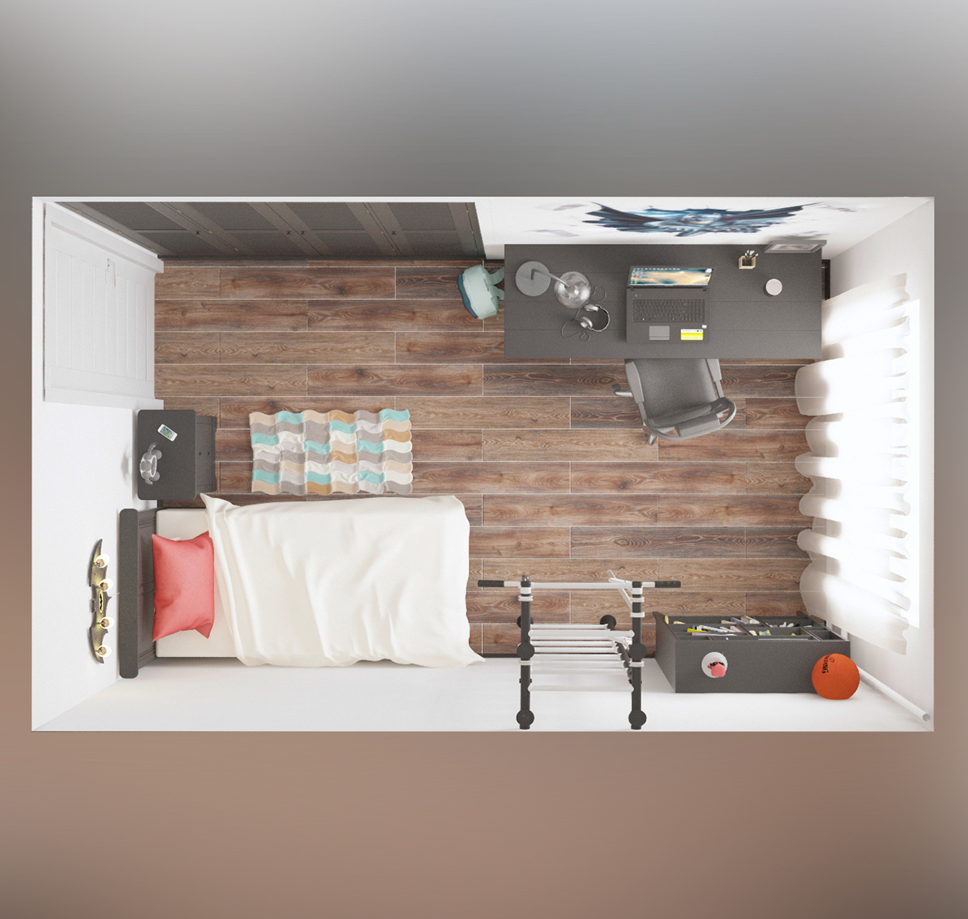 The project of a children's roomАртём ДадыкинBarna